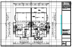 Residential House Lay-out plan
