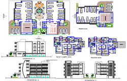 Residential Project detail dwg file