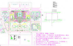 Residential Town Planing Lay-out Plan Detail