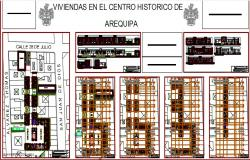 Residential complex of athistorical center of arequipa