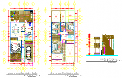 Residential house design drawing