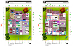 Residential house room Plan autocad file