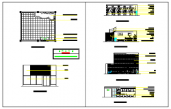 Residential interior project department business design drawing