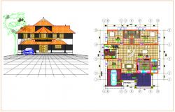 Residential plan Design view
