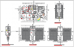 Residential plan detail dwg file