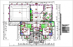 Residential plan dwg file
