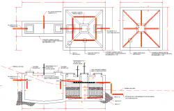 Residuals water treatment plan autocad file