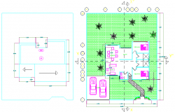 Resort plan dwg file