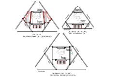 Rest platform plan detail layout file