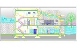 Restaurant architecture detail