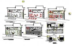 Restaurant kitchen layout design