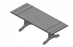 Restle Table 3d details