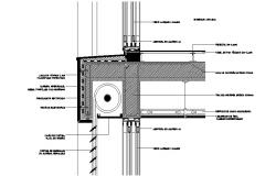 Retaining wall construction details of house cad drawing details dwg file
