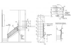Riser And Tread Detail DWG File