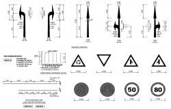 Road Symbol CAD Blocks