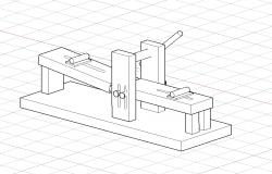 Roladora 3d Drawing