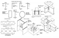 Rolled Steel Sections CAD File