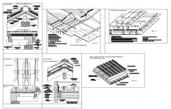 Roof Detail dwg file
