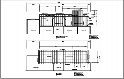 Roof plan and place framing plan detail dwg file