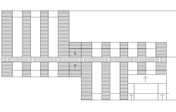 Roof plan layout dwg file