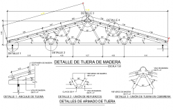 Roof section structural file