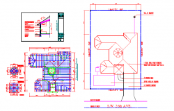 Roof structure lay-out design