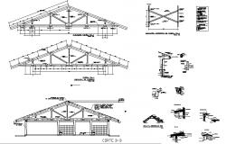Roof trusses details