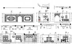 Room Elevation CAD File