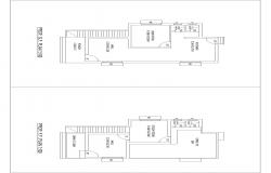 SIMPLE 2BHK PLAN