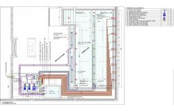 SWIMMING POOL DEATILED PLAN & SECTION