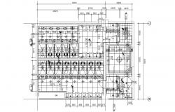 Sanitary Public Toilet Design CAD Drawing