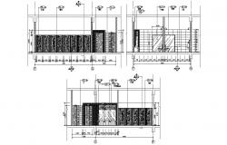 Sanitary Toilet Design AutoCAD Drawing