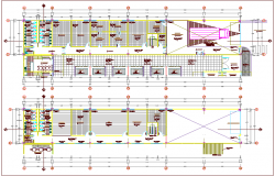 Sanitary view of zonal market dwg file