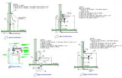 Sanitary ware installation plan