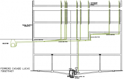 Sanitation detail dwg file