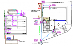 Schematic water supply diagram of house dwg file