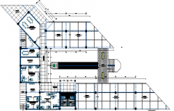 School Architecture Design and Structure Details dwg file