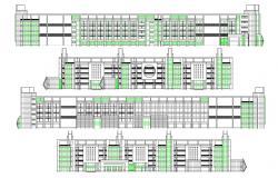 School Building AutoCAD Design