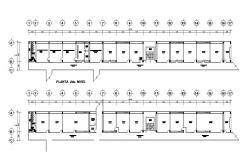 School Building Plan CAD File Free Download
