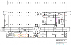 School Layout commercial plan detail dwg file