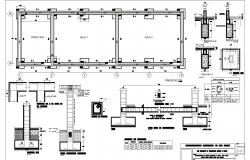 School classroom project plan detail dwg file.
