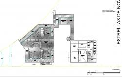 School for reality show architecture project dwg file