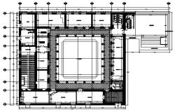 School layout in dwg file