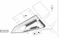 School location plan dwg file