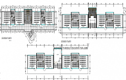 Science economic pavilion layout plan dwg file