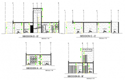 Section Duplex full project plan autocad file