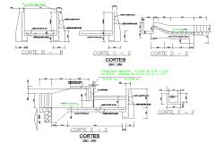 Section Shredder plan detail dwg file