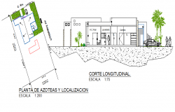 Section and elevation details