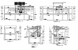 Section detail dwg file