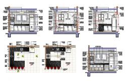 Modular Kitchen Drawing